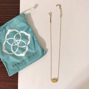 Gold Kendra Scott necklace